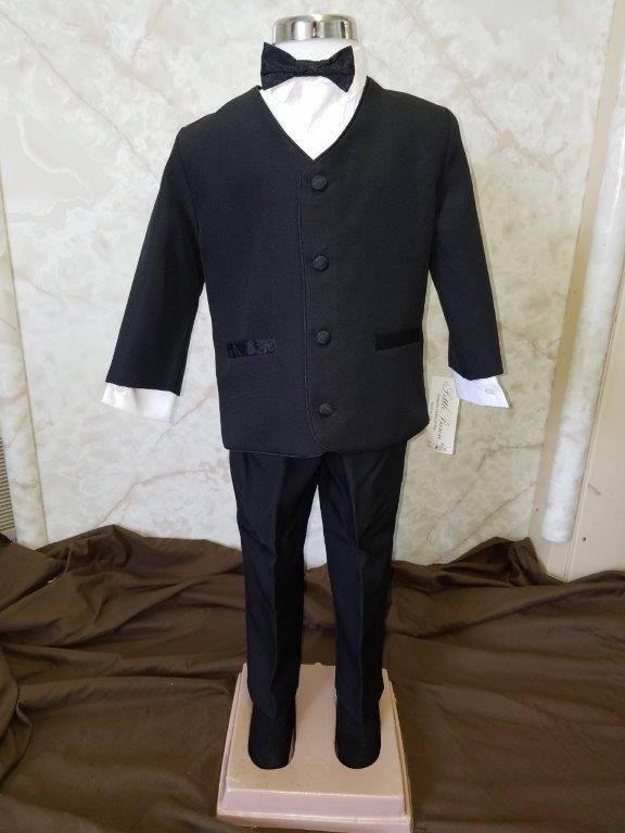 Cheap black toddler tuxedo