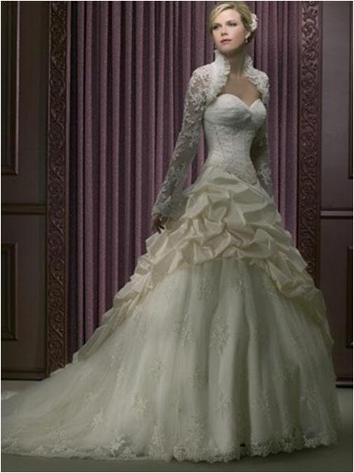 bridal gowns with lace overlay