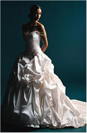 pickup wedding dresses