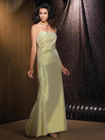 starpless sage bridesmaid dress