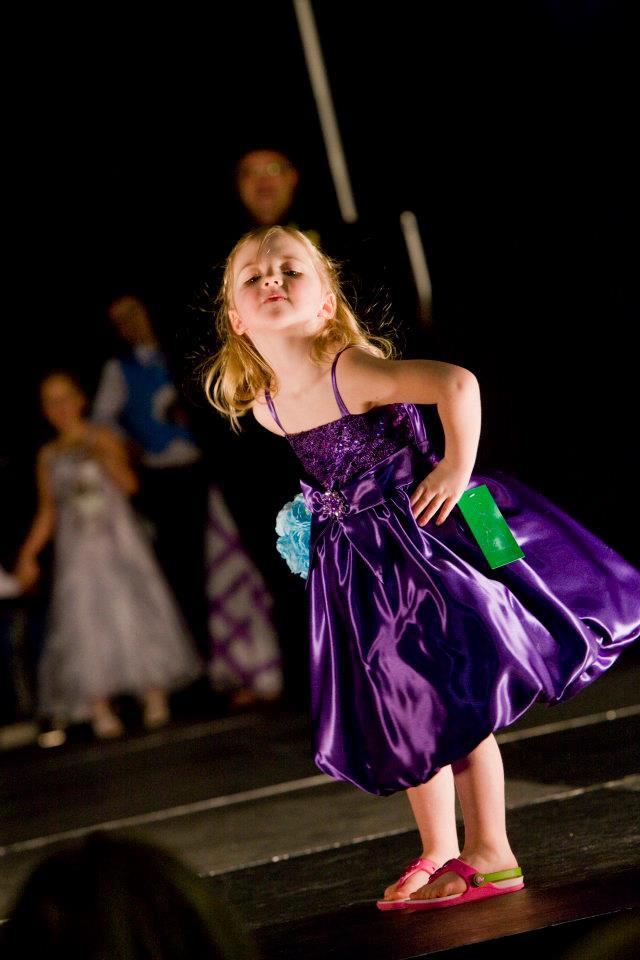purple sparkly flower girl dress