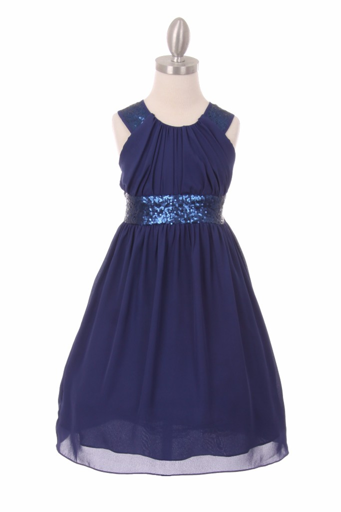 navy dresses for little girls