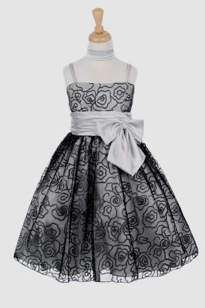 Similiar Black And Silver Girls Dresses Keywords