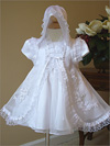 christening Dress with Train