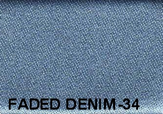 faded denim