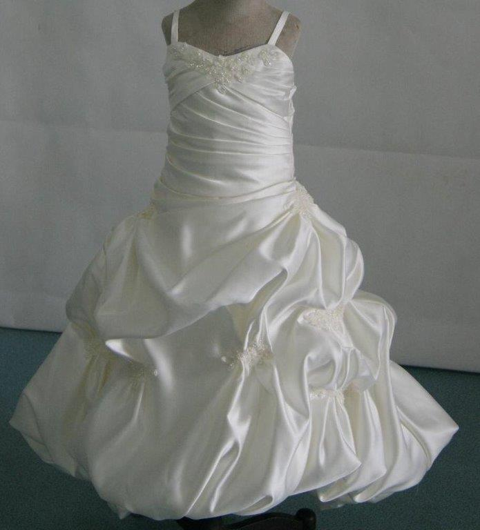 miniature wedding gown