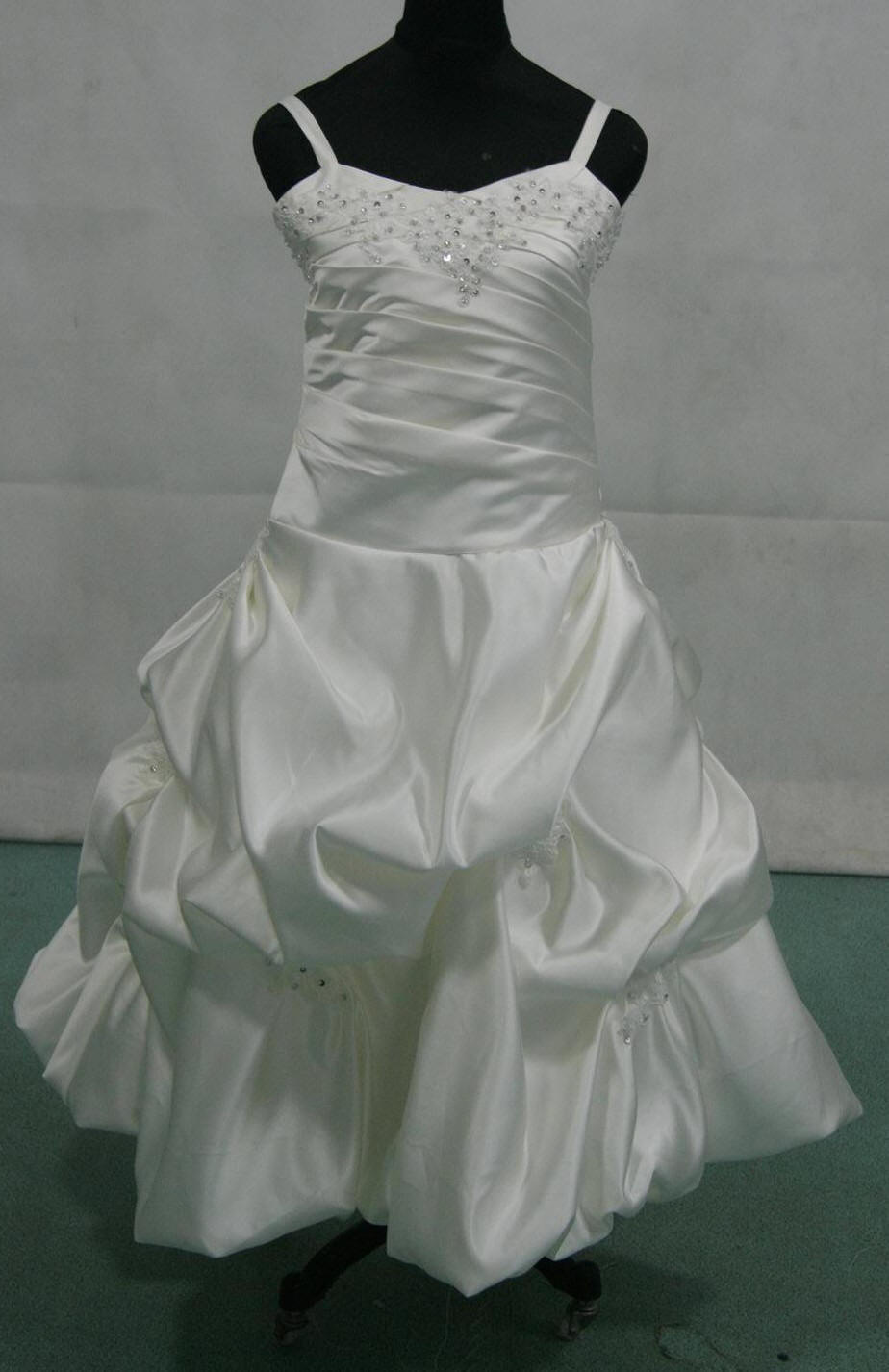 Light Ivory Miniature wedding gown