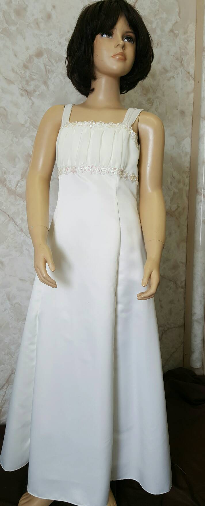 girls ivory size 12 dress