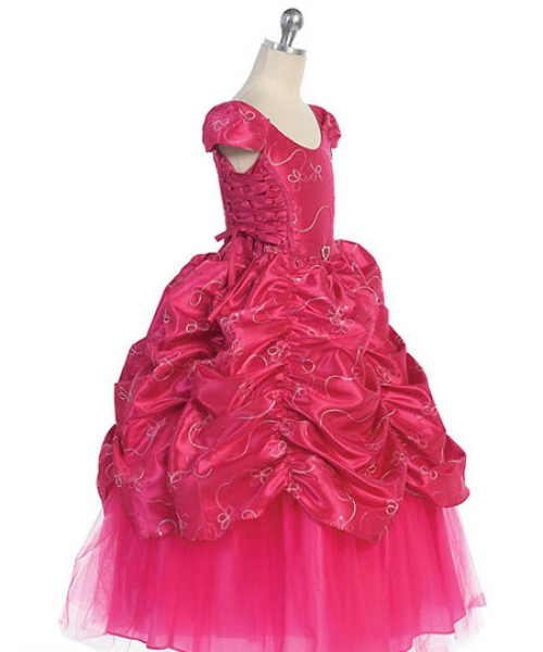 Cinderella Princess style dress with crisscross sides