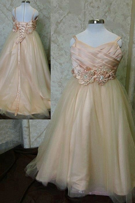 tulle ball bridal gown