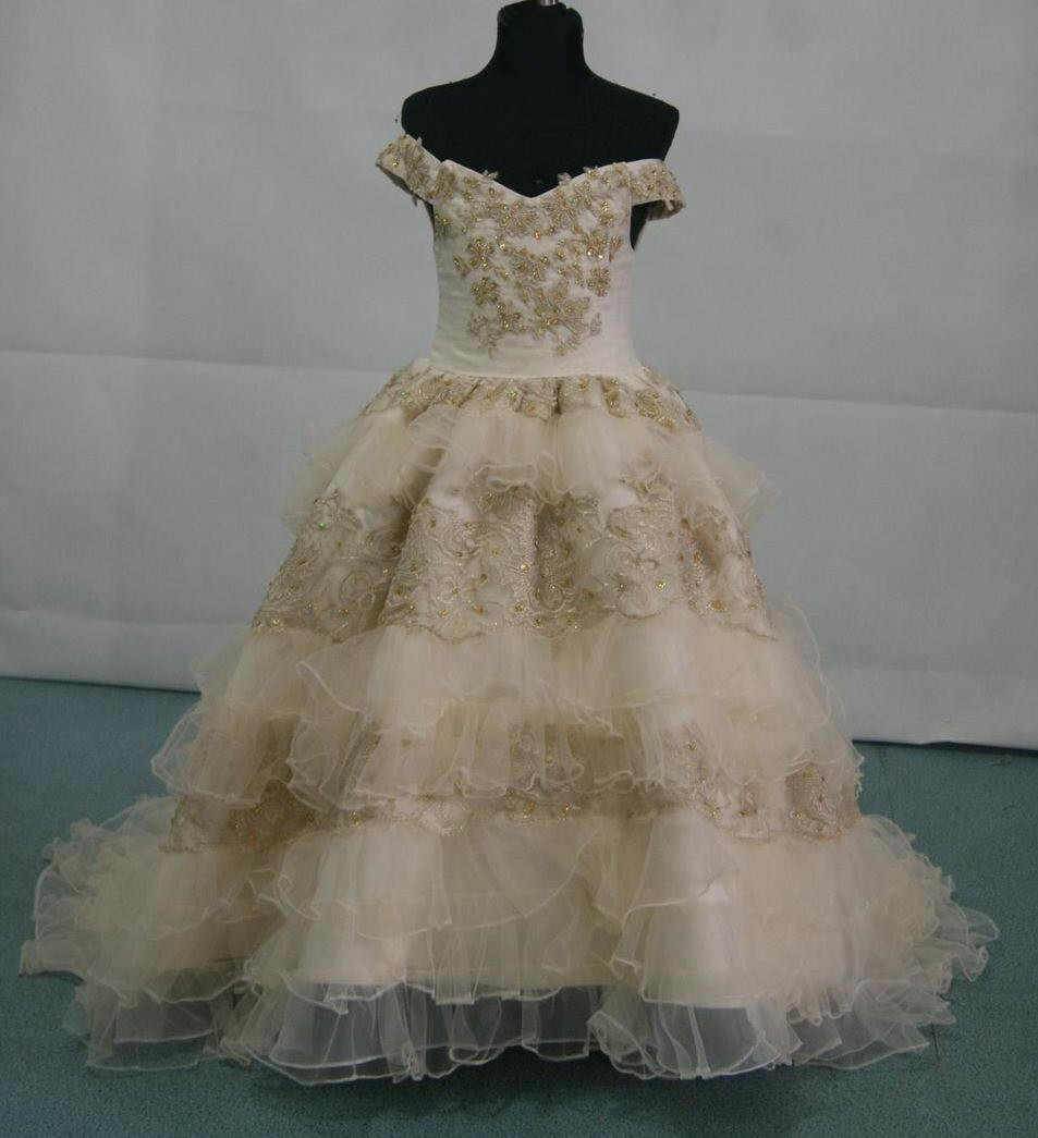 Southern Colonial ball gown