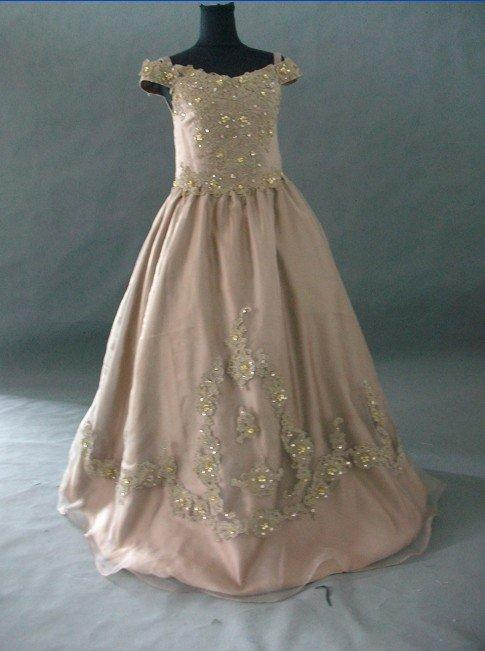 southern bell pageant gown