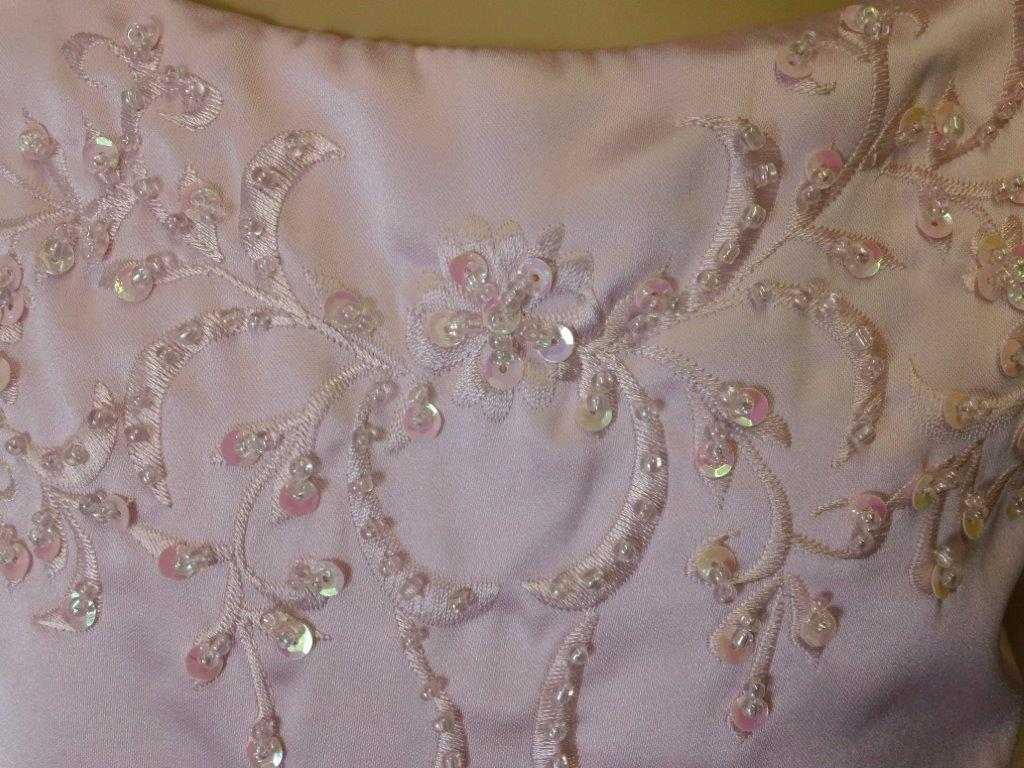beaded embroidery bodice