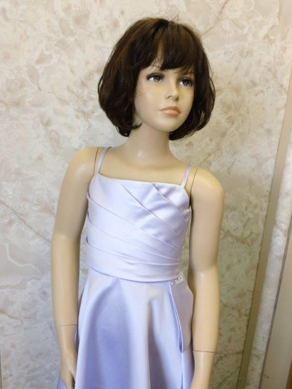 orchid flower girl dress