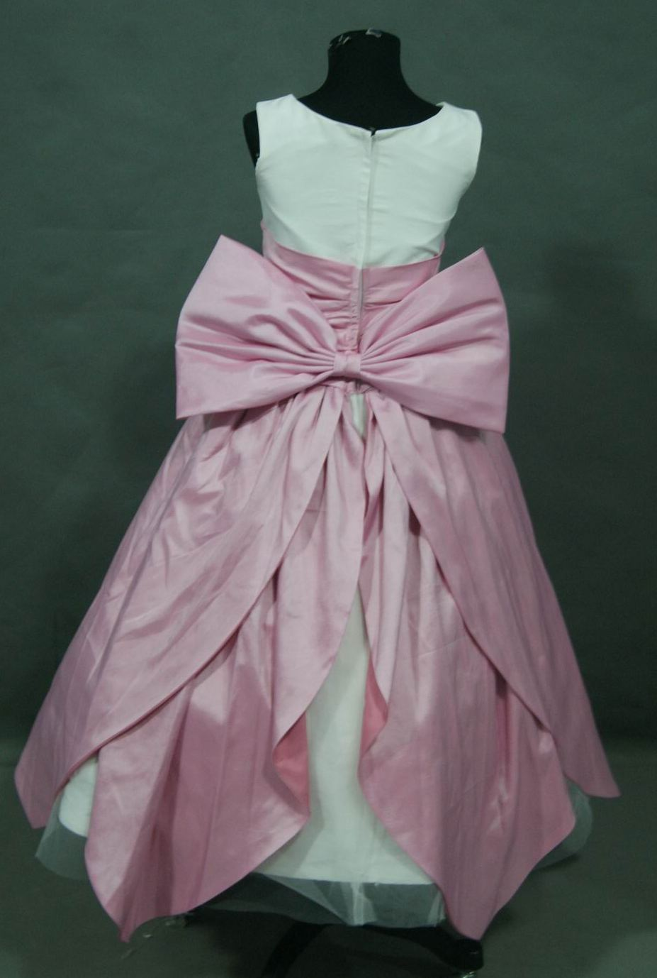 light ivory with rose petal skirt