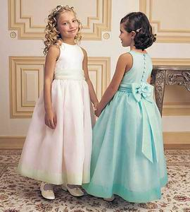 Brown Flower Girl Dresses $110