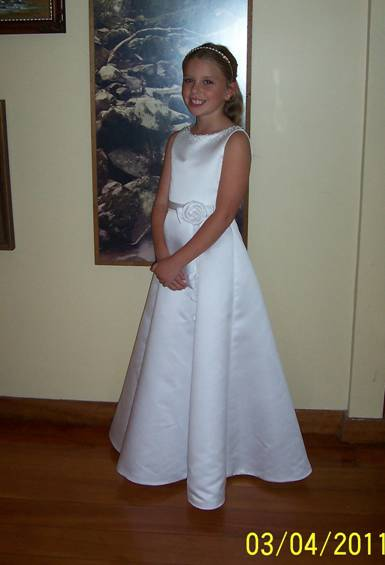 first communion dress for my grand-daughter