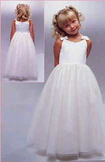 bargain flower girl dress