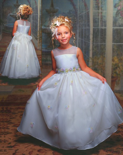 discount flower girl dresses