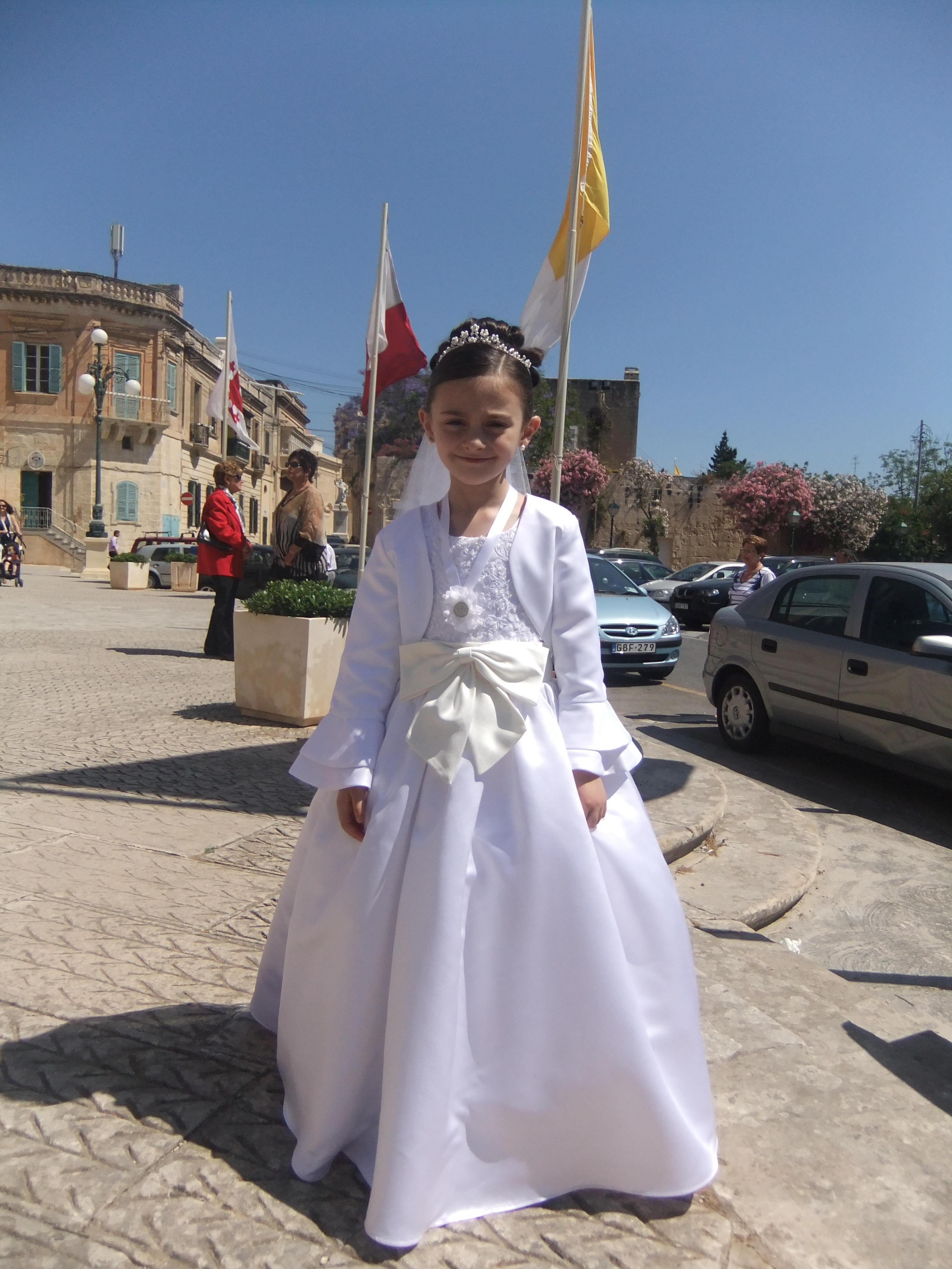 gorgeous Holy Communion jacket