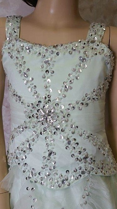 sequin pageant dresses