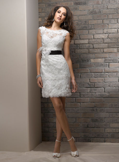 short white and black mothers dress