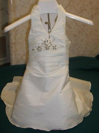 infant to toddler miniature bridal gown