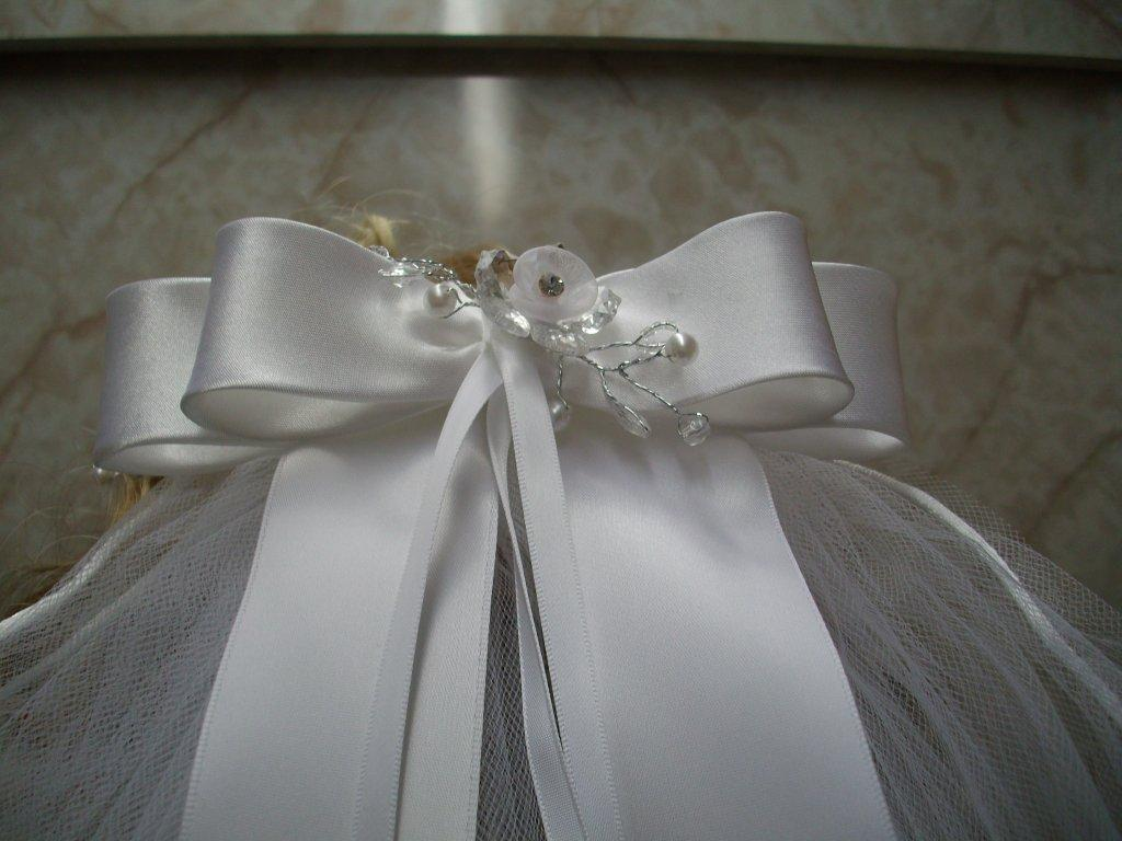 First Communion Veils and Headpieces