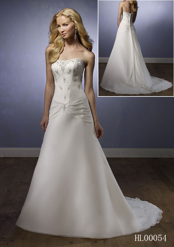 Wedding Dresses Inexpensive Simple 52