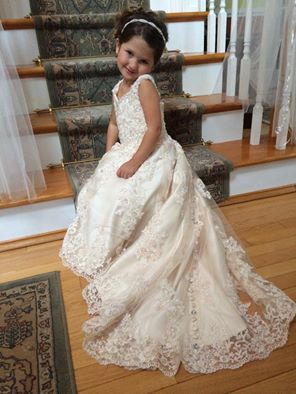 flower girl dress like Your Wedding Dress
