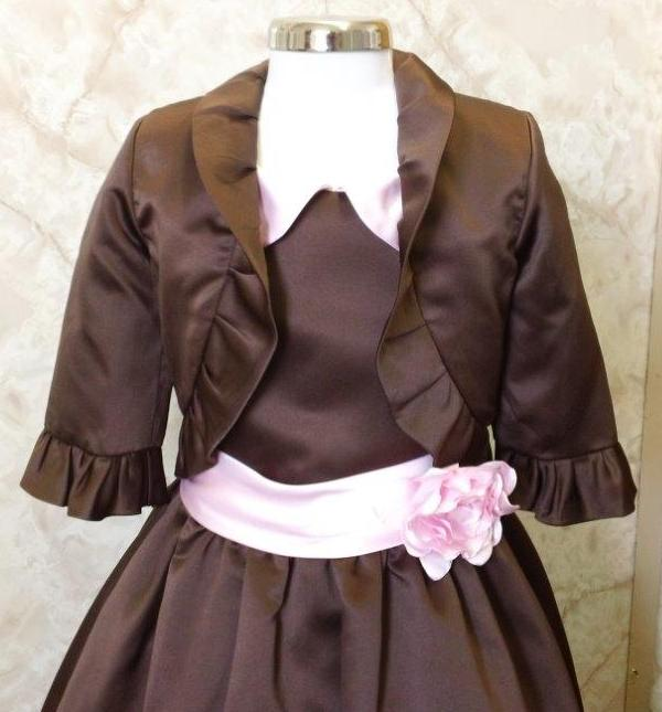 3/4 sleeve ruffle jacket