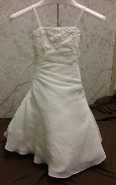 12 month size wedding gown