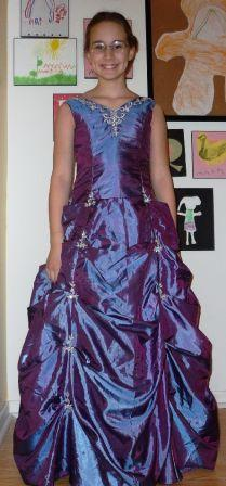 victorian lilac pageant dress