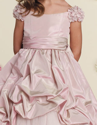 pink colonial dress