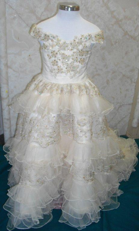 little girls southern ball gown