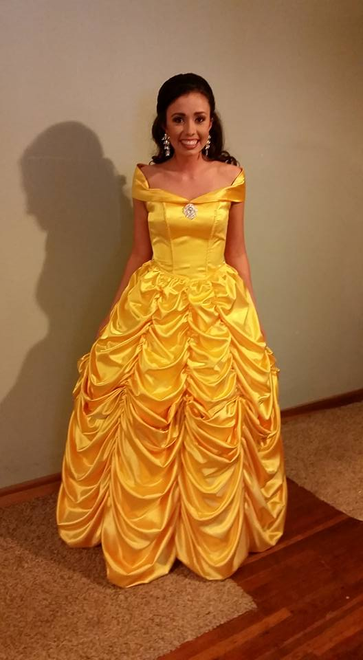 belle at the ball