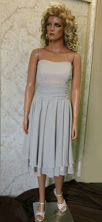 Knee length Summer Bridesmaid Dresses