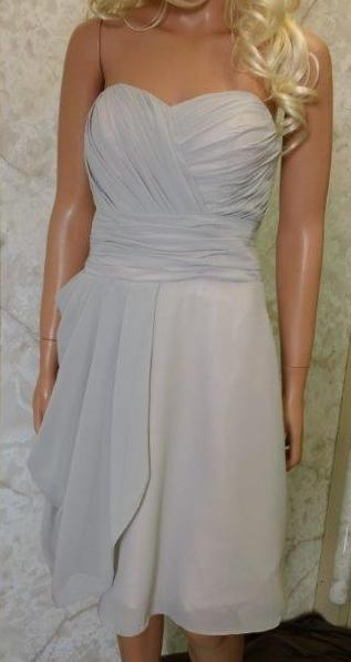 Shirred Chiffon Bridesmaid dress