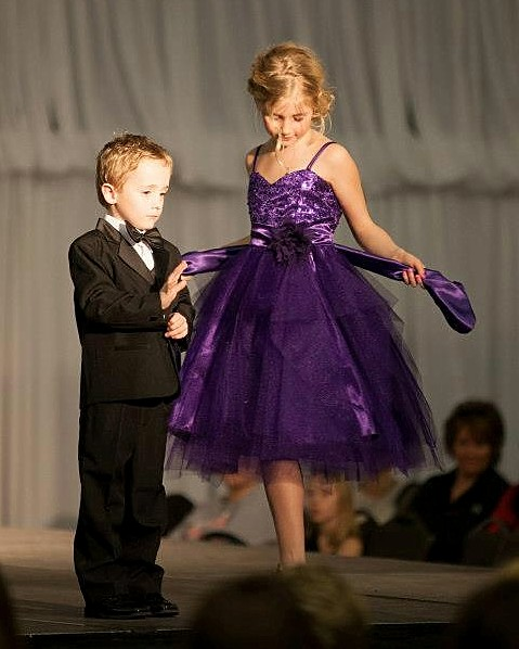 kids purple party dress sale