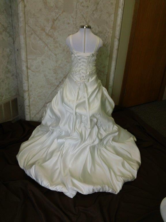 miniature copy of the bridal gown