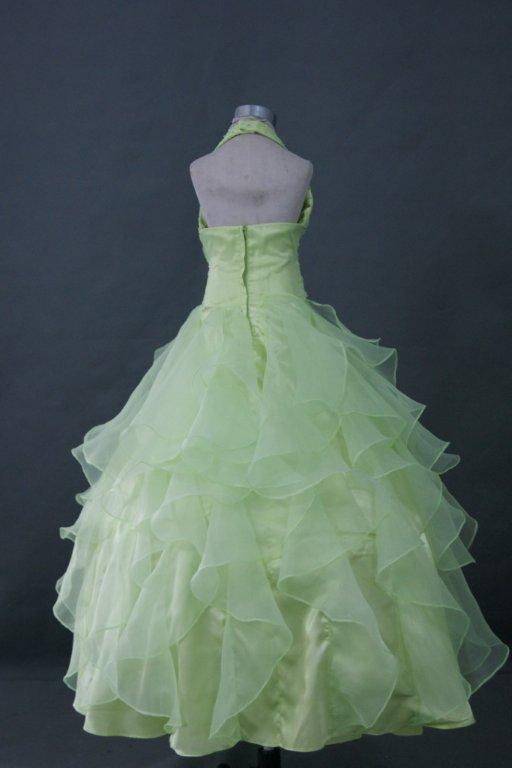 Lime green pageant dresses for teens