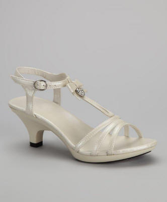 ivory flower girl shoes