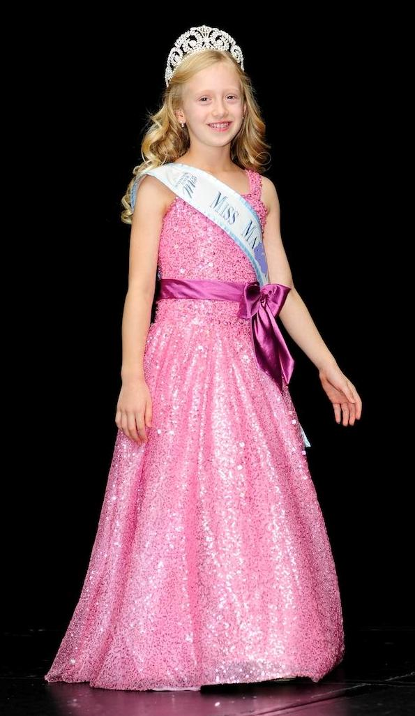 pink girls pageant dresses
