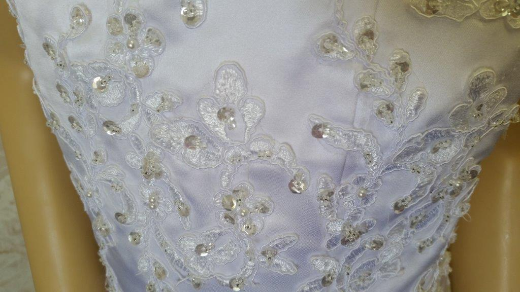 beaded lace applique