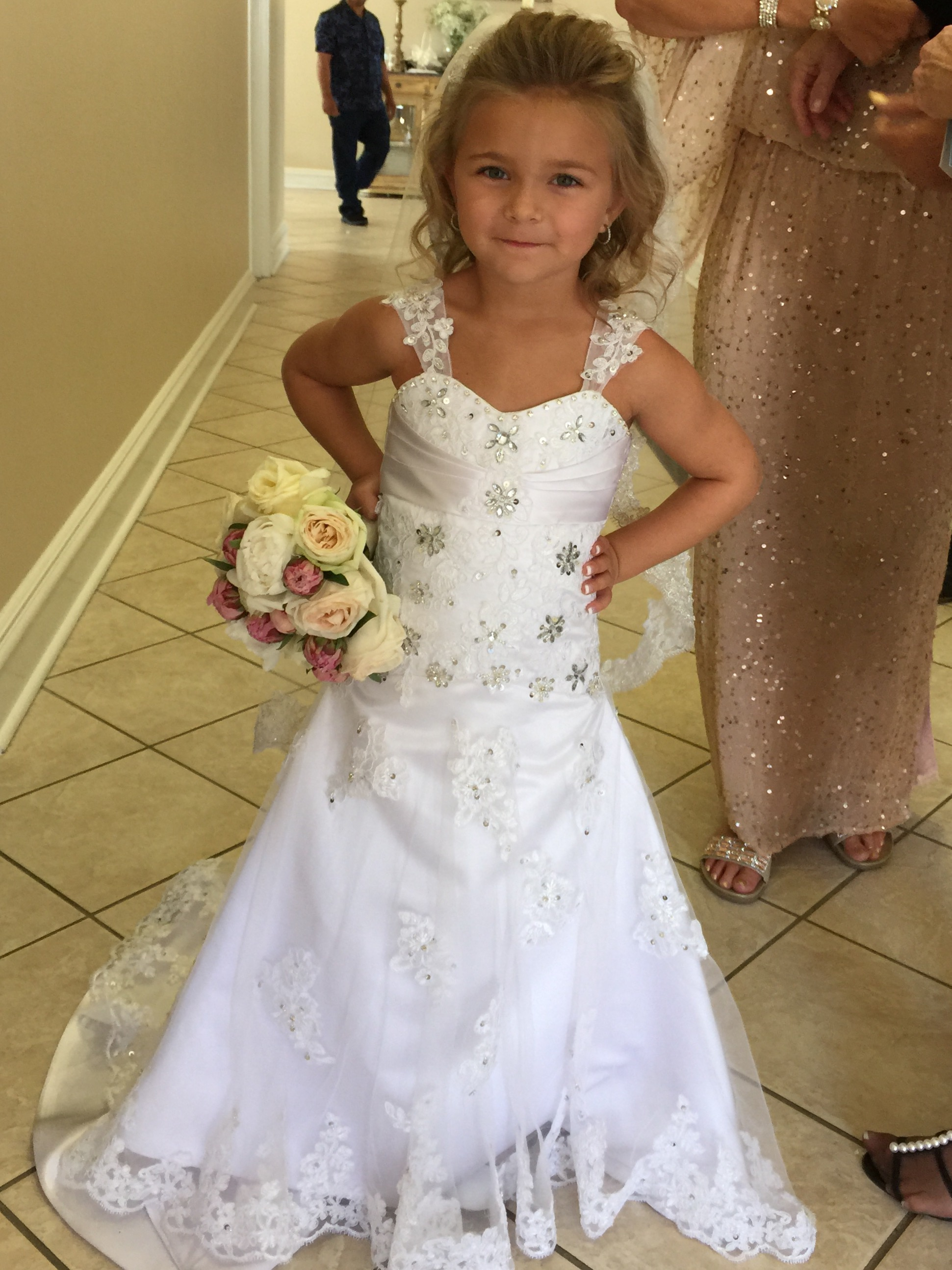 Gallery of wedding pictures and special event memories for Flower girls wedding dress
