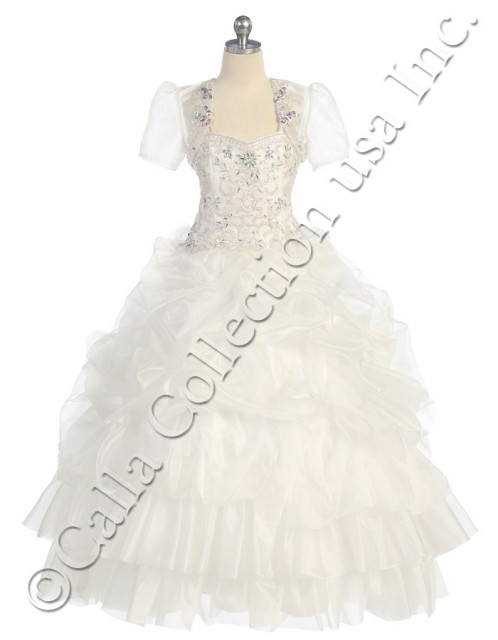 ivory cheap ball gowns