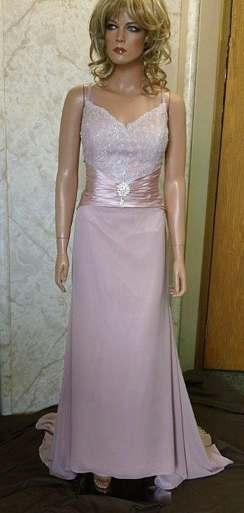 dusty rose mother of the bride dress