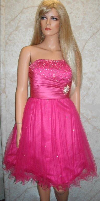 quinceanera short colorful dama dresses