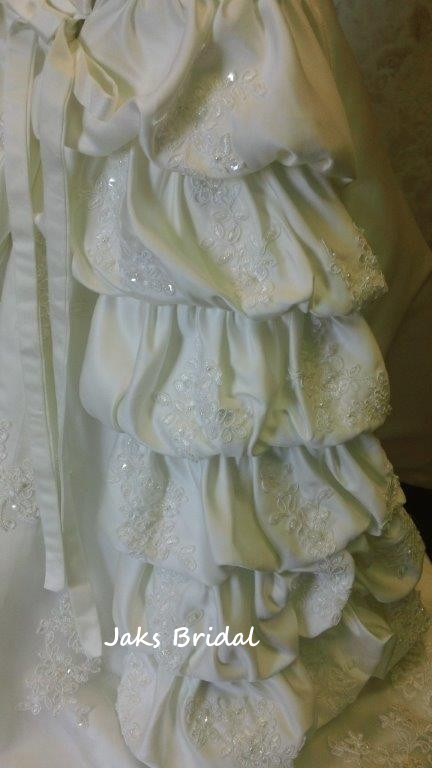 tiered bubble dress