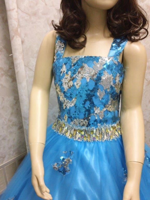 girls turquoise national pageant dresses